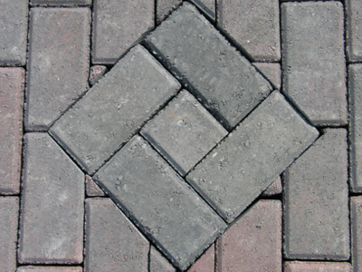 Paver Accent in Charcoal Color
