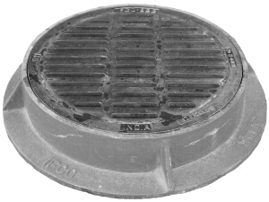Cast Iron Slotted Cover