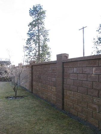 Private Residence Fence 1