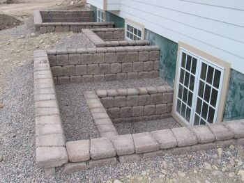 Concrete Masonry Units Retaining Walls Chimney Block