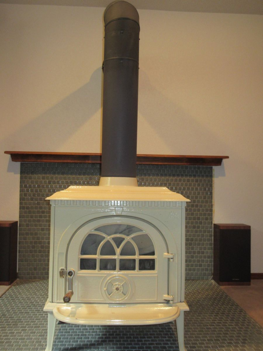 Wood Stove to Gas Fireplace Remodel